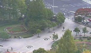 停止中:宮城県庁 南側ライブカメラと雨雲レーダー/宮城県仙台市