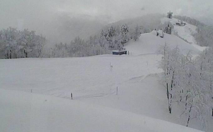 立山山麓スキー場(展望台方面)ライブカメラと雨雲レーダー/富山県富山市