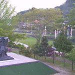 日吉親水公園・意宇川・周藤彌兵衛像ライブカメラ