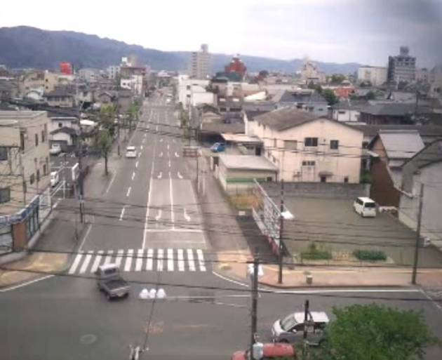 熊本県八代市 県道250号と八代市の街ライブカメラと雨雲レーダー