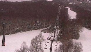 志賀高原の焼額山スキー場ライブカメラと雨雲レーダー/長野県山ノ内町