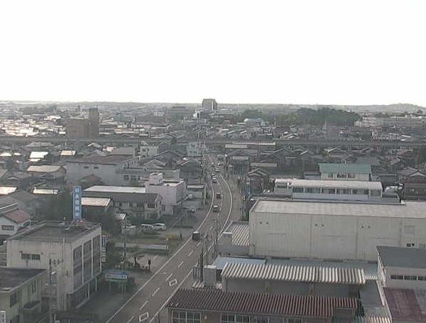 小松市消防本部周辺ライブカメラと雨雲レーダー/石川県小松市