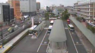 米子駅前ロータリーライブカメラと雨雲レーダー/鳥取県米子市