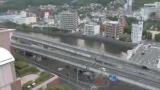 浦上川・県道112号ライブカメラと雨雲レーダー/長崎県長崎市