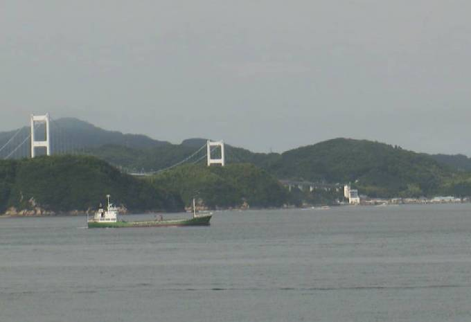 来島海峡・来島海峡大橋 ライブカメラと雨雲レーダー/愛媛県今治市