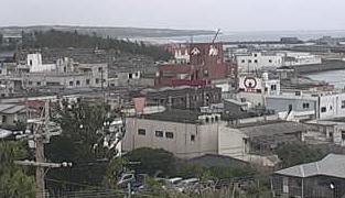 朝戸医院屋上ライブカメラと雨雲レーダー/鹿児島県和泊町