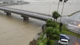 停止中:台風5号 宮崎県日南市特設ライブカメラ(ウェザーニュース)と雨雲レーダー/宮崎県日南市