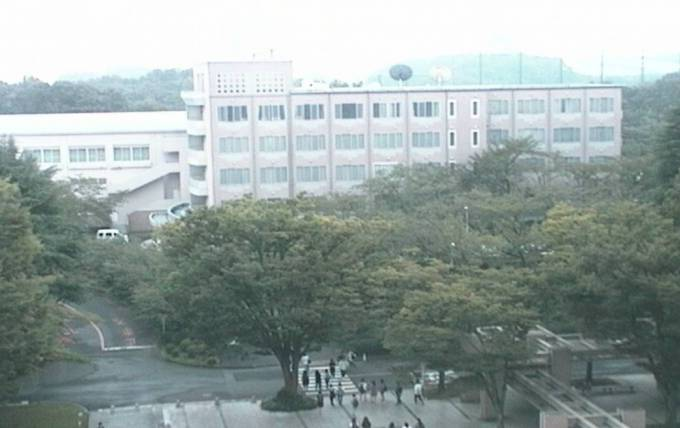 創価大学経済学部ライブカメラと雨雲レーダー/東京都八王子市