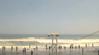 停止中:静波海岸ライブカメラ(夏季限定・USTREAM)と雨雲レーダー/静岡県牧之原市