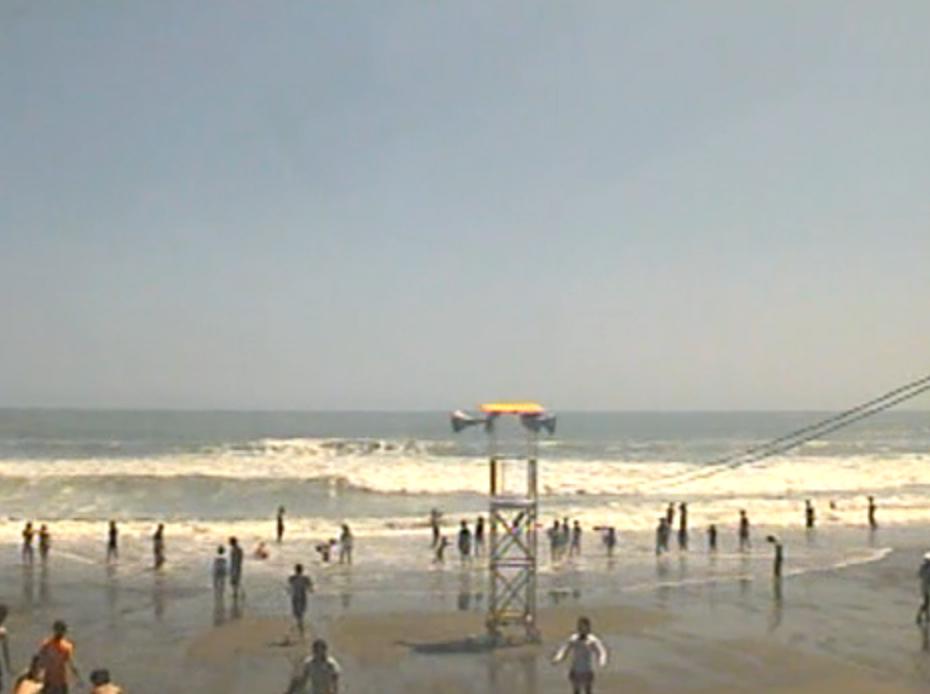 静岡県牧之原市 静波海岸ライブカメラ(夏季限定・USTREAM)と雨雲レーダー