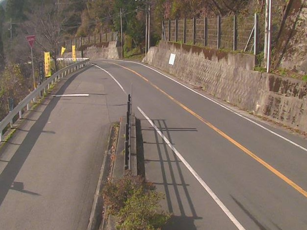 県道45号・西祖谷旧料金所の周辺ライブカメラと雨雲レーダー/徳島県三好市