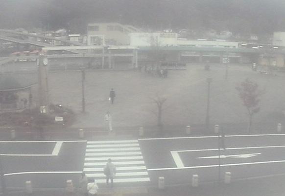 鬼怒川温泉駅前ライブカメラと雨雲レーダー/栃木県日光市