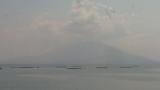 伊達酒造福山から見える桜島ライブカメラと雨雲レーダー/鹿児島県霧島市