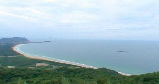 幣の浜(にぎのはま)360度パノラマカメラ