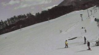 ひるぜんベアバレースキー場ライブカメラ(2ヶ所)と雨雲レーダー/岡山県真庭市