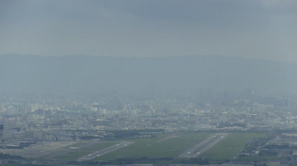 大阪府豊中市 伊丹空港ライブカメラ2(大阪国際空港)[USTREAM]と雨雲レーダー