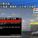 北朝鮮・弾道ミサイル速報ライブカメラ(NHK)