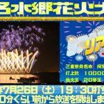 2014年7月26日 桑名水郷花火大会ライブカメラ
