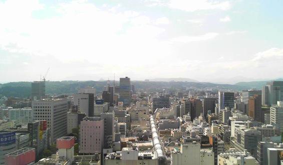 停止中:仙台七夕花火祭ライブカメラと雨雲レーダー/宮城県仙台市