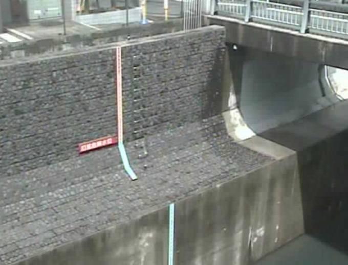 渋谷川 ライブカメラ(渋谷橋)と雨雲レーダー/東京都渋谷区