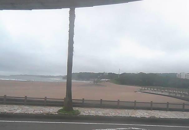 御宿海水浴場や網代湾など月の沙漠記念像周辺ライブカメラと雨雲レーダー/千葉県御宿町