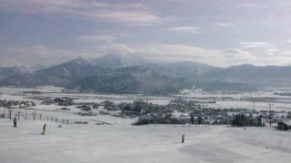 五日町スキー場ライブカメラと雨雲レーダー/新潟県南魚沼市