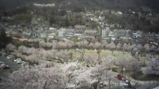 城山公園ライブカメラと雨雲レーダー/長野県長野市