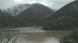 新穂ダムライブカメラと雨雲レーダー/新潟県佐渡市(佐渡島)