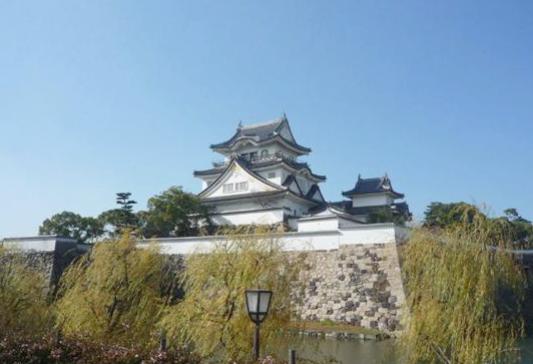 岸和田城360度パノラマカメラ