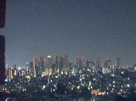 新宿高層ビル群ライブカメラ