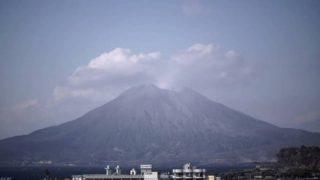 桜島がみえるライブカメラ[NHK]と雨雲レーダー/鹿児島県