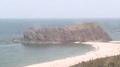 かぶと山山頂からの久美浜湾ライブカメラと雨雲レーダー/京都府京丹後市