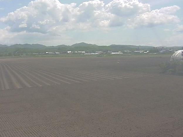 北海道訓子府 クノール スイートコーン畑ライブカメラと雨雲レーダー