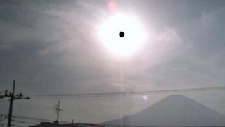 富士山ライブカメラ(勝又新聞店から)と雨雲レーダー/静岡県御殿場市