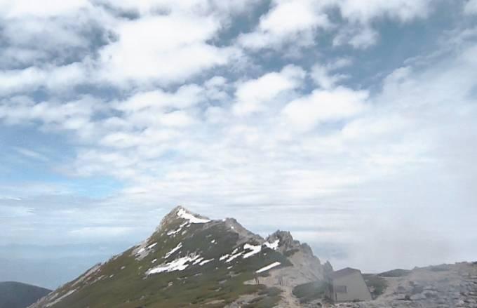 中央アルプス駒ヶ岳ライブカメラ(4ヶ所)と雨雲レーダー/長野県宮田村