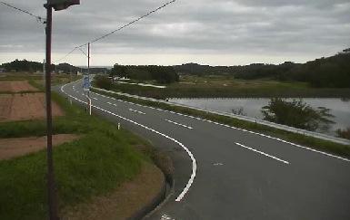 西の沢ため池付近ライブカメラと雨雲レーダー/福島県広野町