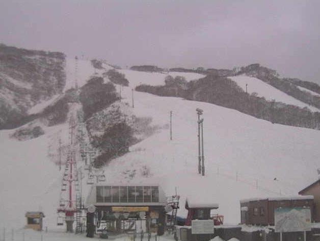 ニセコグラン・ひらふスキー場 エース第2センターフォー乗り場付近ライブカメラ