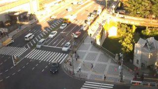 新宿通り・四谷交差点ライブカメラと雨雲レーダー/東京都新宿区