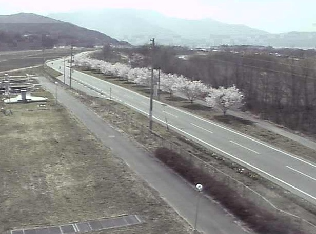 高遠浄化センター前の県道209号ライブカメラ