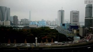 汐留 高速道路ライブカメラと雨雲レーダー/東京都港区