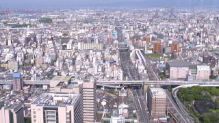 あべのハルカス ライブカメラと雨雲レーダー/大阪府大阪市
