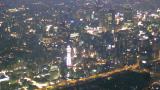 大阪府大阪市 あべのハルカス周辺ライブカメラ(58階)と雨雲レーダー