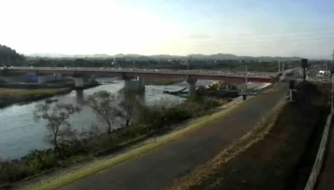 日野川ライブカメラ(USTREAM)と雨雲レーダー/鳥取県伯耆町