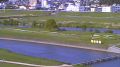 直方河川敷ライブカメラ1と雨雲レーダー/福岡県直方市