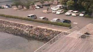 海上温泉パレアライブカメラと雨雲レーダー/佐賀県玄海町