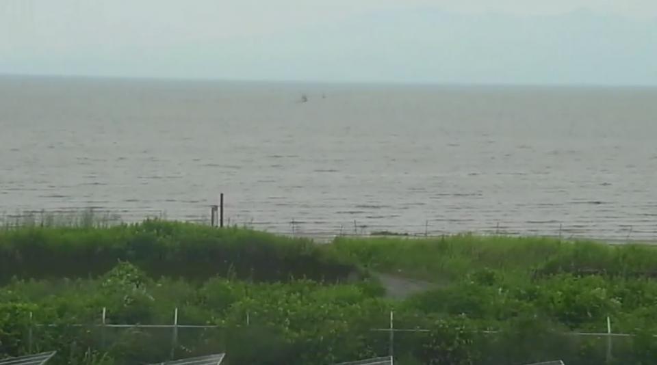 熊本県荒尾市 有明海ライブカメラと雨雲レーダー