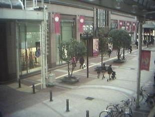 停止中:一番町四丁目商店街ライブカメラと雨雲レーダー/宮城県仙台市