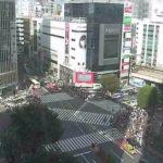 渋谷駅前スクランブル交差点ライブカメラ(遠目)