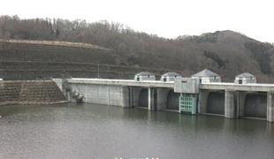 三春ダム(管理所前)ライブカメラと雨雲レーダー/福島県三春町