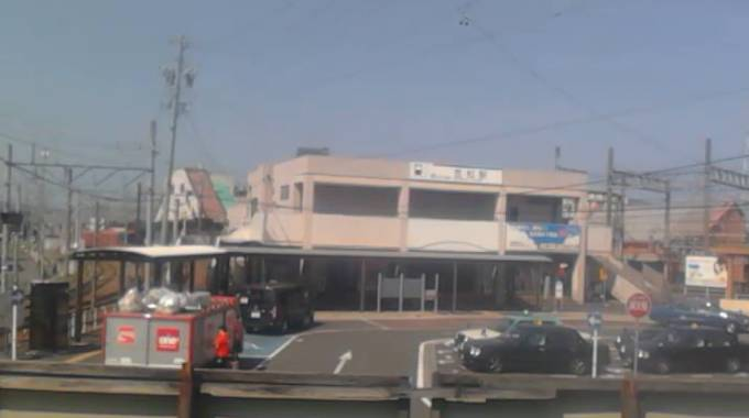 岐阜県笠松町 笠松駅(かさまつえき)西口駅前ライブカメラと雨雲レーダー